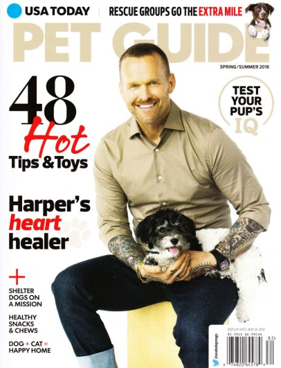 Pet guide cover